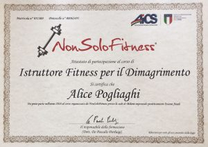 Istruttore Fitness per il Dimagrimento
