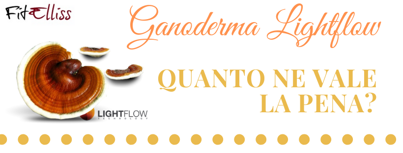 Prodotti Lightflow con Ganoderma